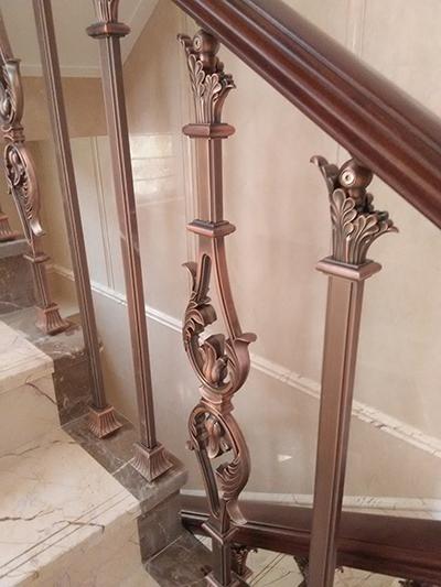 常州铁艺楼梯扶手的正确施工方法